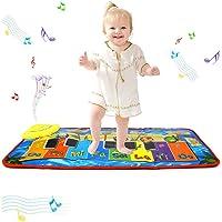 PROACC Uppgradera piano lekmatta, barn piano tangentbord musik lekmatta leksak, stor storlek (80 x 34 cm) rolig…