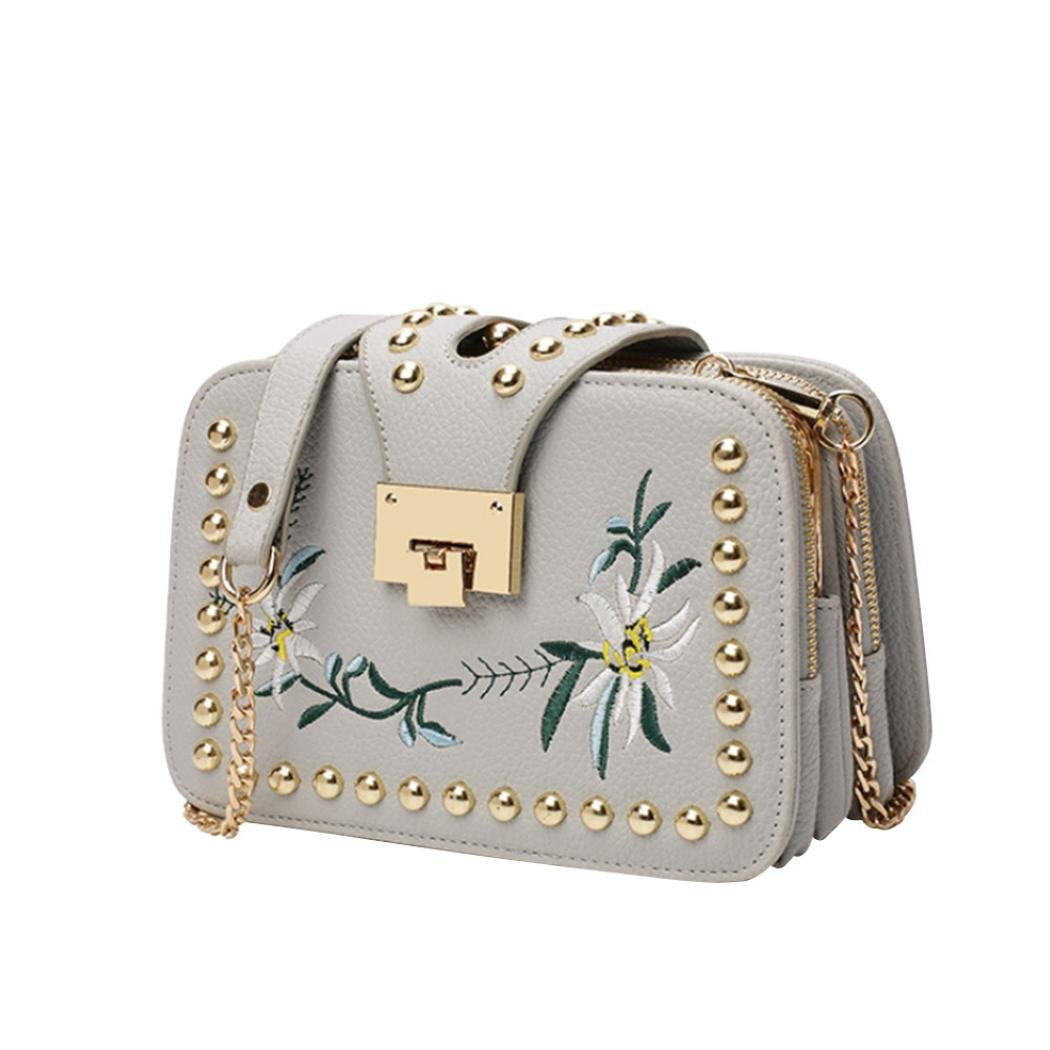 Amazon.com: cocomarket Diagonal Cruz bolsa de hombro Moda ...