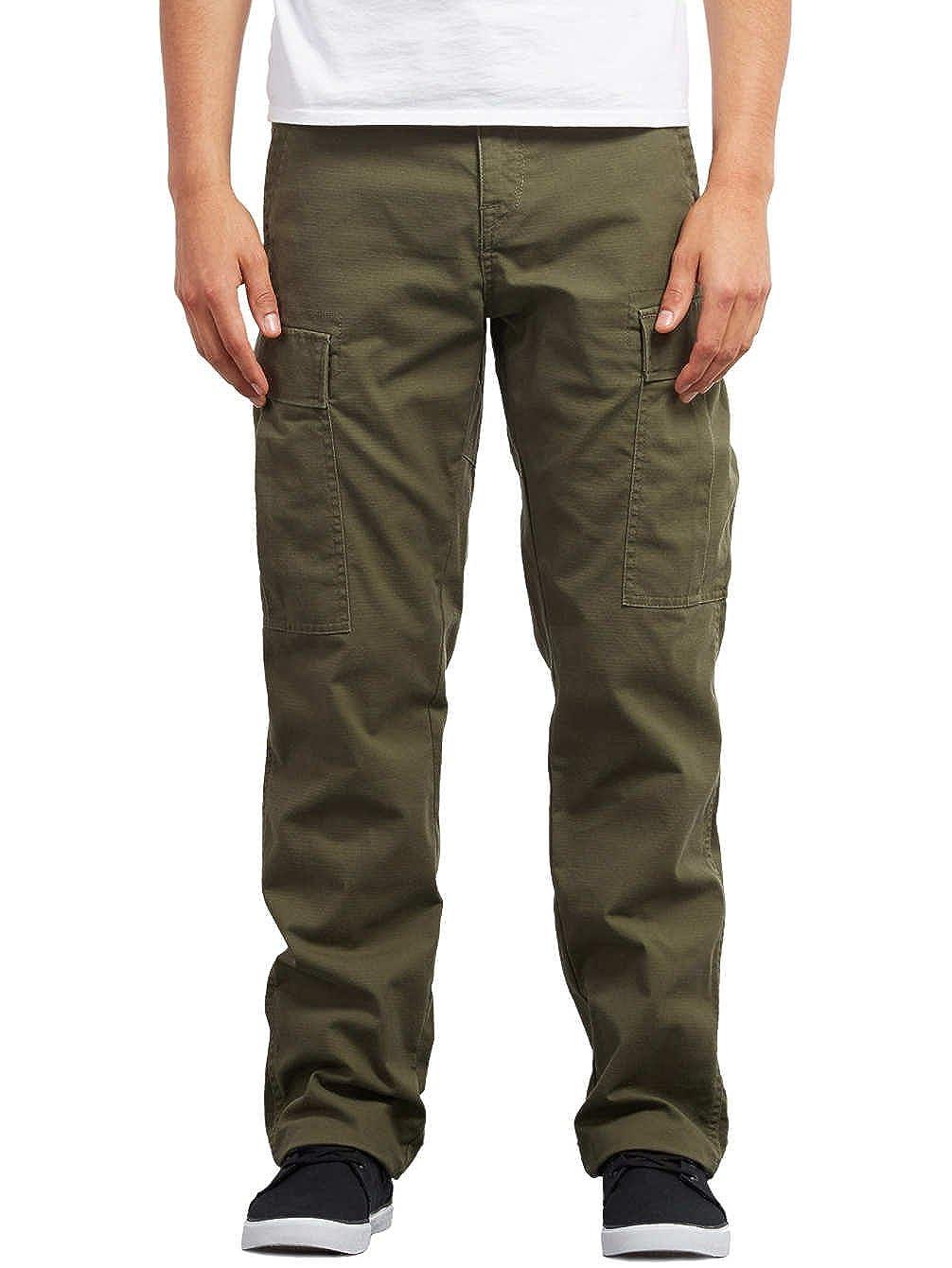 290a1bf73 Pants Men Volcom Strngr Reg Tap Cargo Pants  Amazon.co.uk  Clothing