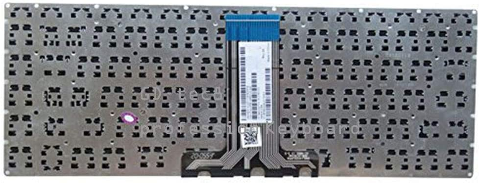 Laptop Keyboard Compatible for HP Pavilion 14-ab 14-ab014tu 14-ab023tu 14-ab027tx 14-ab066us 14-ab109tx 14-ab166tx US Black No Frame