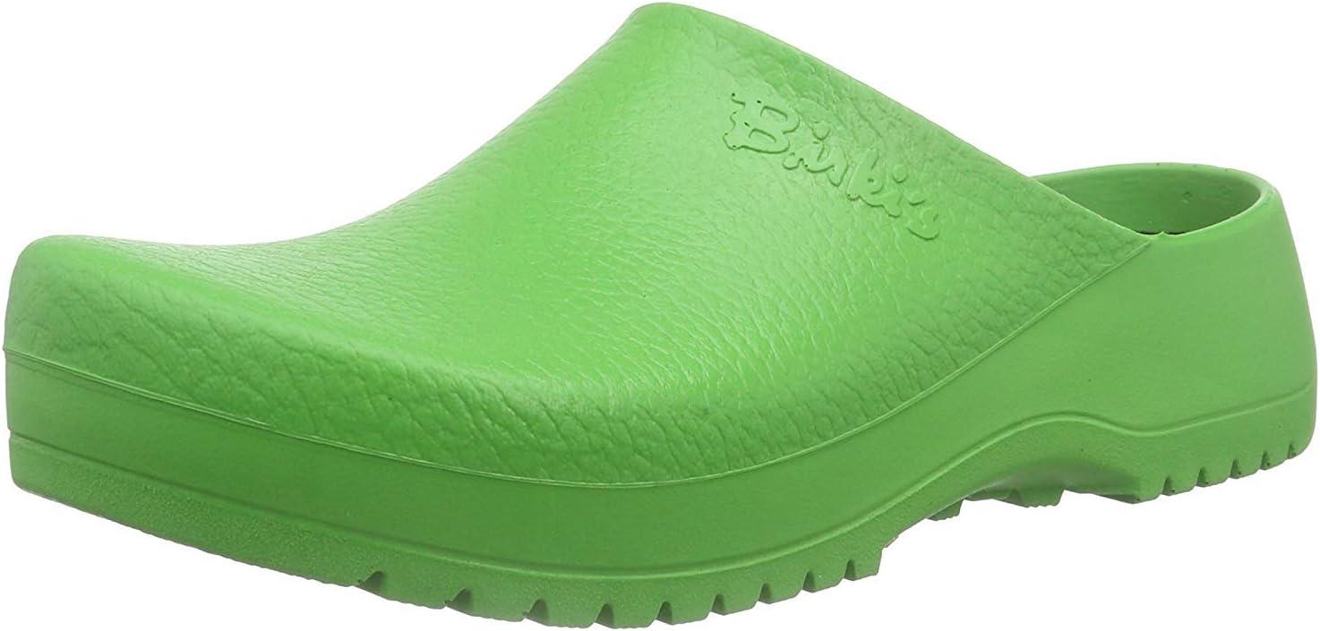 Birkenstock Unisex Clogs Super-Birki - Apple Green - W 6 / M 4