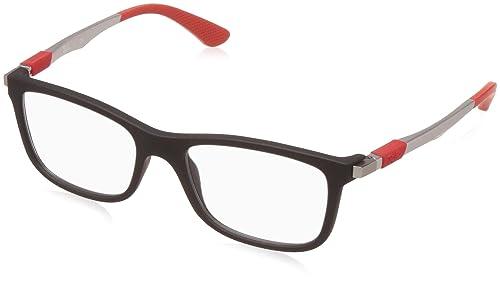 Ray-Ban 0Ry1549 Monturas de gafas, Rectangulares, 48, Matte Black