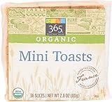 365 Everyday Value, Organic Mini Toast, 2.8 Ounce