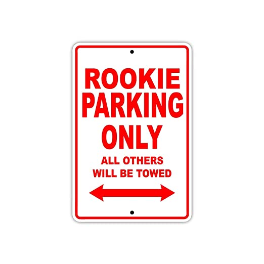 Eugene49Mor Rookie Athlete Sports Player Parking Only Gift ...