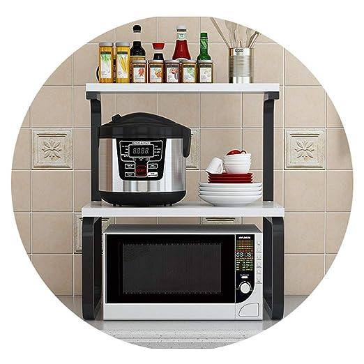 Estante Para Horno De Microondas De Cocina, Estante De Especias De ...