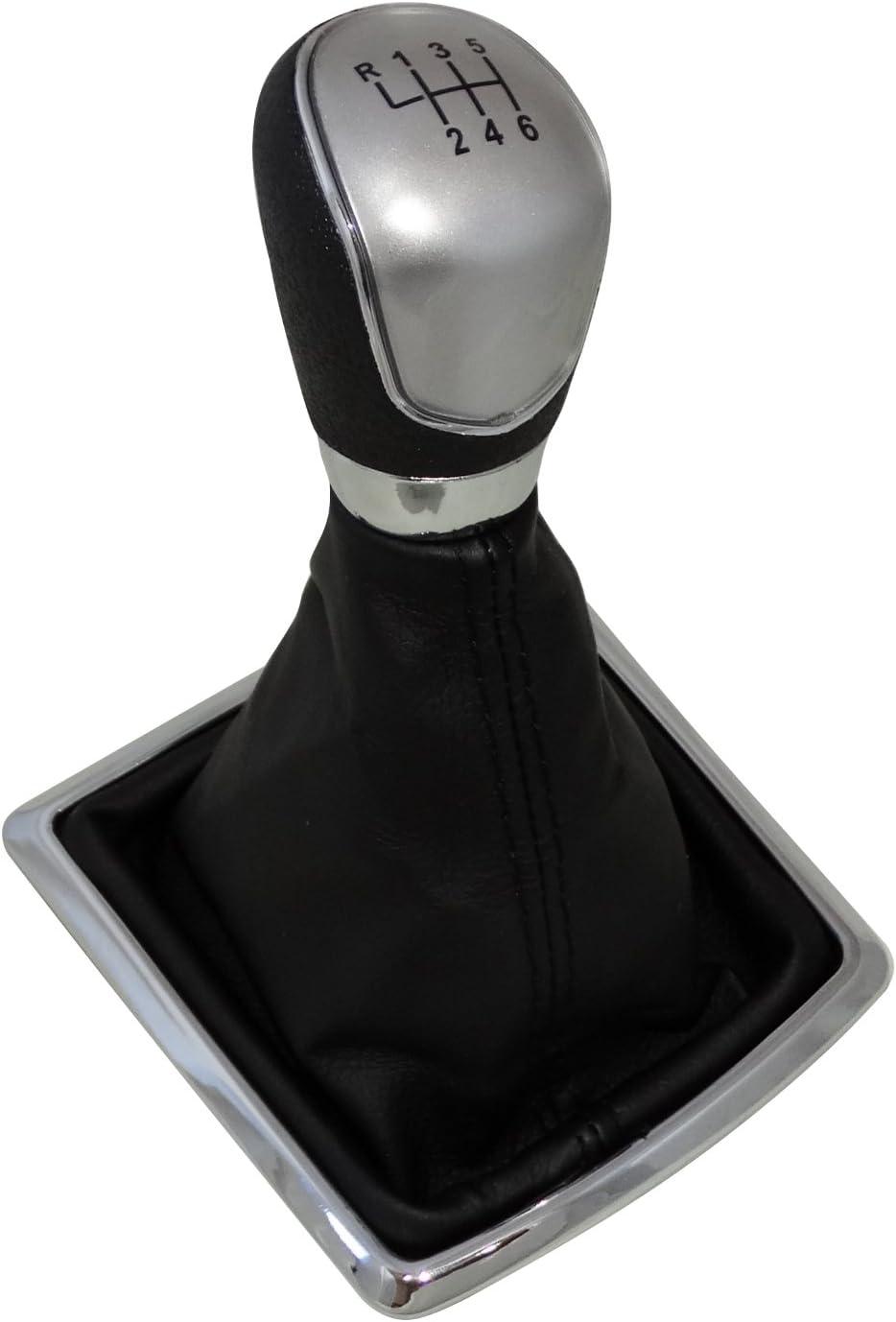 AERZETIX Pommeau de levier de vitesse avec 6 vitesses pour auto voiture