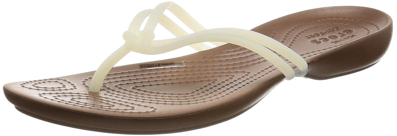 Crocs - Bronze) Isabella -/ Tongs - 12864 Femme Blanc (White/ Bronze) b700f8c - latesttechnology.space