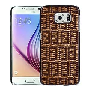 Newest Samsung Galaxy S6 Case ,Fendi Black Samsung Galaxy S6 Cover Case Hot Sale And Popular Designed Phone Case