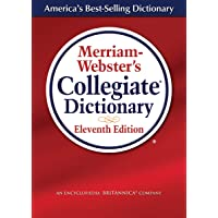 Merriam-Webster's Collegiate Dictionary, 11th Edition, Laminated Hardcover, Plain-Edged...