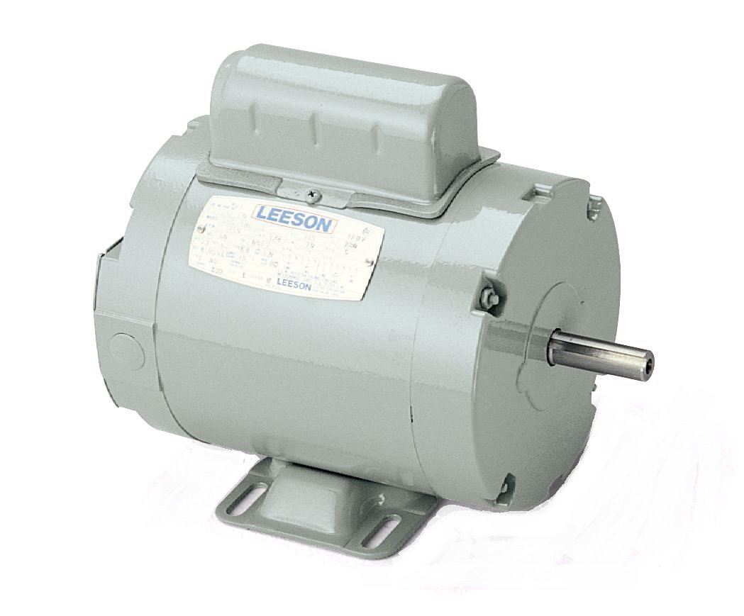 Leeson 111333.00 Agricultural Aeration Fan Motor, 1 Phase, 56Z Frame, Rigid Mounting, 1HP, 3600 RPM, 115/230V Voltage, 60Hz Fequency