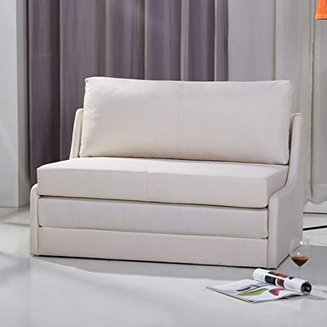 Super Amazon Com Sleeper Loveseat Convertible Sofa Upholstered Gamerscity Chair Design For Home Gamerscityorg