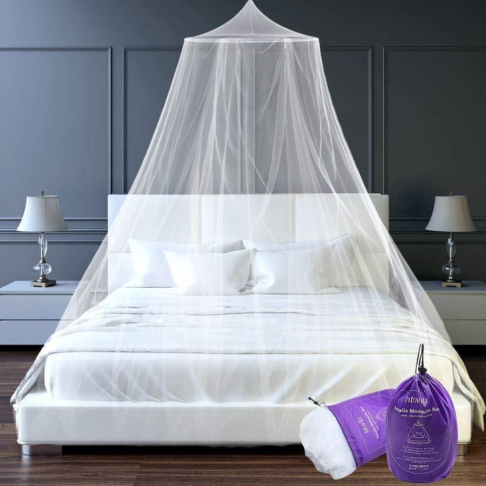 Mosquitera Universal de Color Blanco con Diseño de Cúpula
