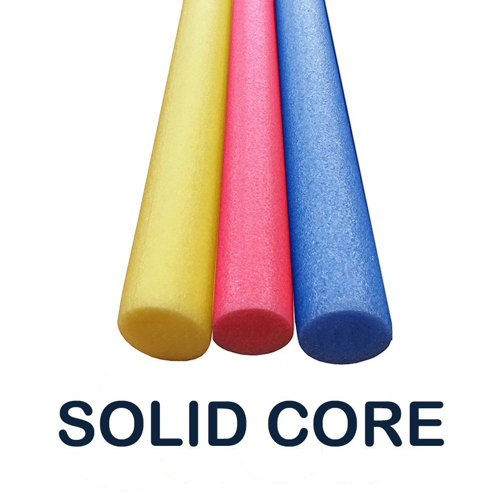 Oodles of Noodles 3 Pack 60 Inch x 2.75 Inch Extra Long Foam Noodle Multi-Purpose - Assorted Colors