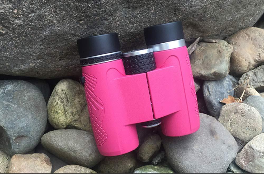Rxbdk 双眼鏡、8X32小型HD高精細低照度コンサート望遠鏡多色オプション  Pink B07GC15Z5H