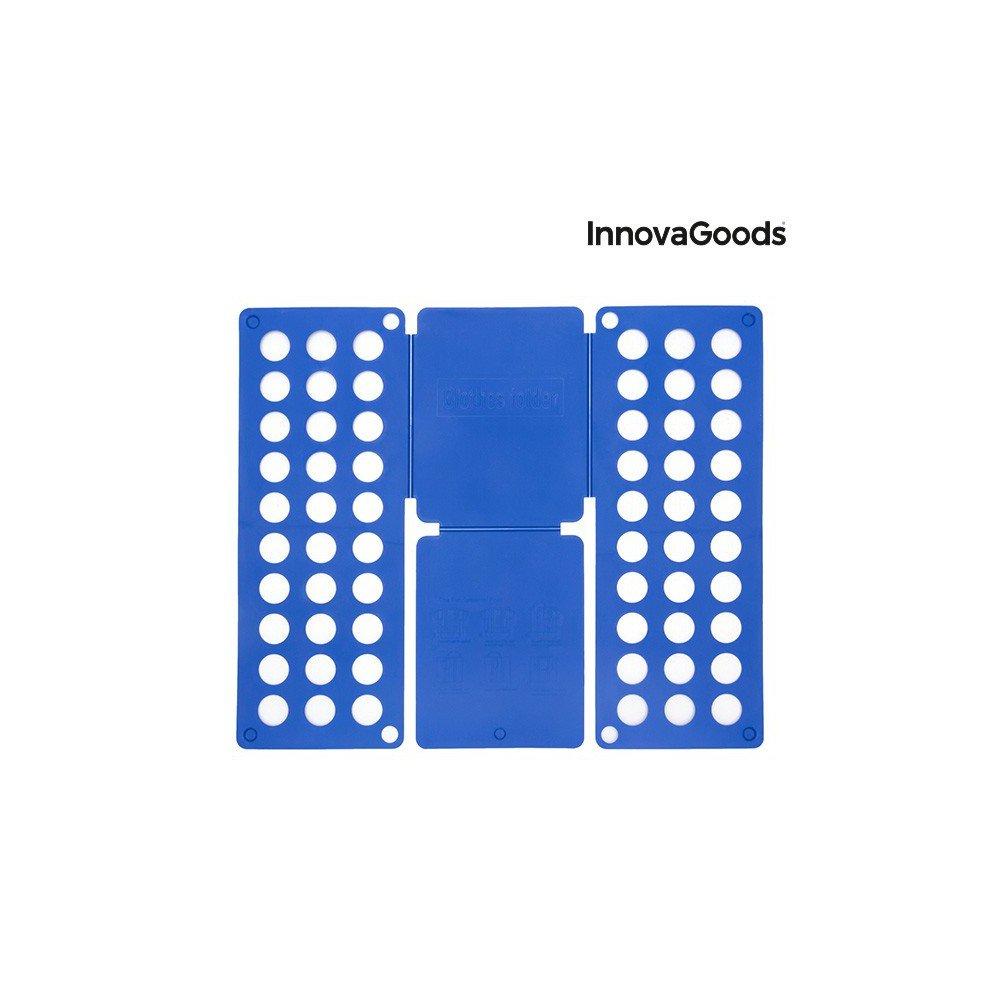Azul 24x59x3 cm Polipropileno InnovaGoods Doblador de Ropa