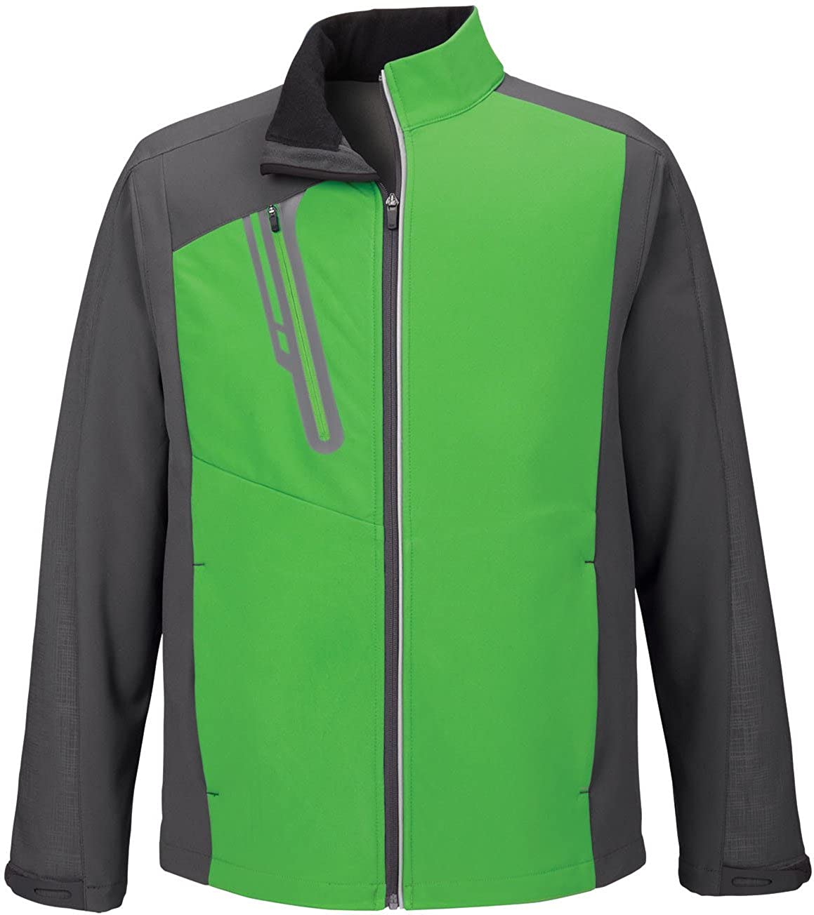 88176 XXX-Large Va... North End Mens Embossed Color-Block Soft Shell Jacket