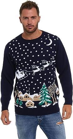 Vintage knitting pattern-make a mens christmas reindeer chunky jacket cardigan