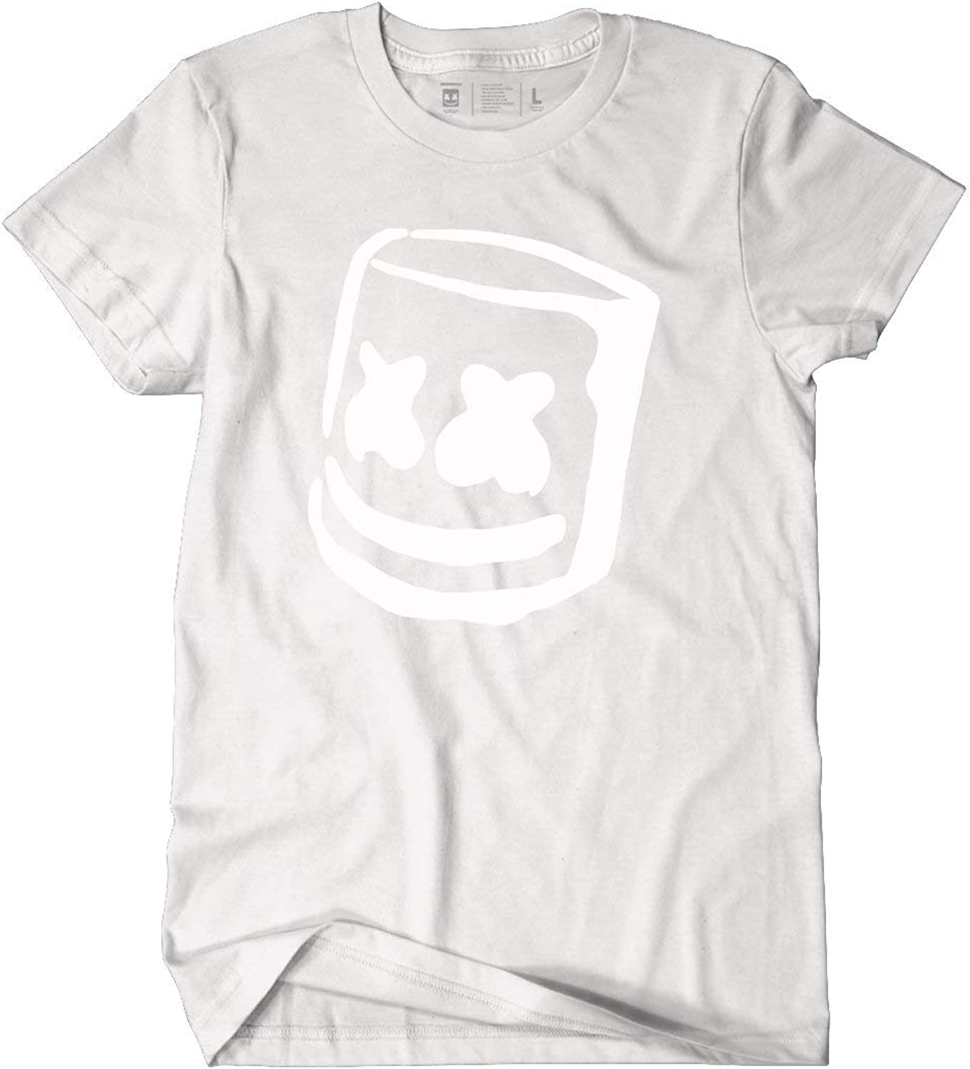 Marshmello Mellogang Black or White Unisex Cotton Tee