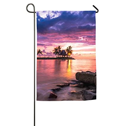Amazon Com Jiaqi Beach Resort Sunset Assortment Of 12 X 18