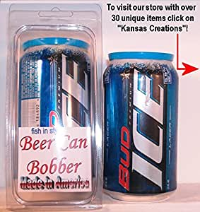Beer Can Bobber - Fish in Style (Bud Ice)
