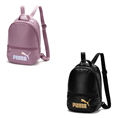 PUMA Unisex Backpack - WMN Core Up Archive Backpack, Logotipo de Puma Cat, 33x30x13cm