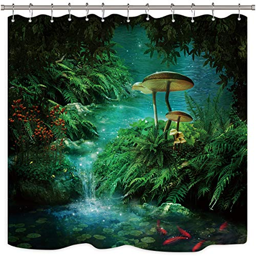 Riyidecor Mushroom Weighted Polyester Waterproof product image