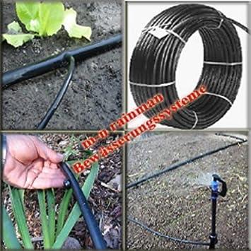 PE Rohr Wasserrohr Gartenschlauch 1m und 100m Schlauch Garten Ø 50 mm x 4,3 mm
