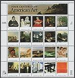 Four Centuries of American Art Sheet of 20 32