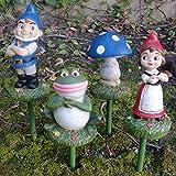 Gnomeo & Juliet Garden Stakes (Set of 4)