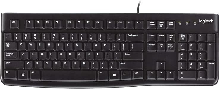 Logitech K120 Toetsenbord voor Bedrijven - QWERTY, Amerikaanse lay-out