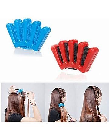 NUOLUX - Herramienta para modelar el pelo, trenzador para el pelo, 2 unidades