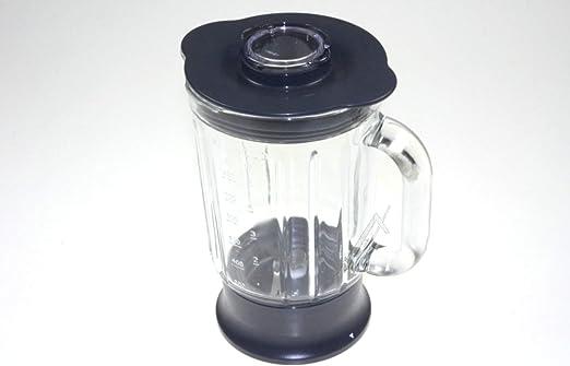 Robot de cocina FP260 - Vaso batidor completo de cristal (1,2 L) original Kenwood: Amazon.es: Hogar