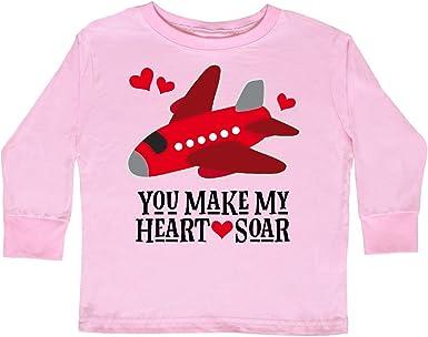 inktastic 2019 Valentine Day Pink Love Hearts Toddler T-Shirt