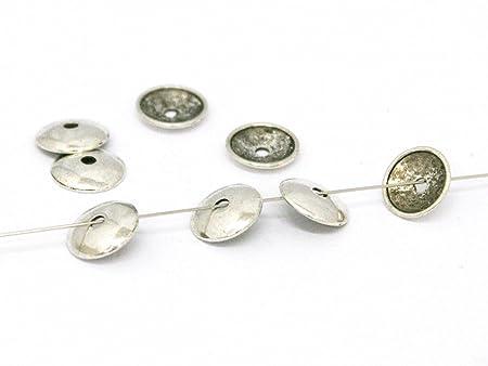 2 pieces Brass Stopper fit Charm Beads Bracelet A4231