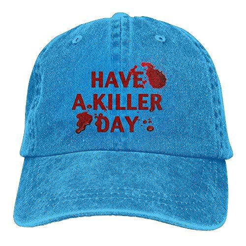 Cowgirl Killer Cap Cowboy DEFFWB Denim Day Have Sport Hats for Hat Men A Skull Women qtzwtfZ