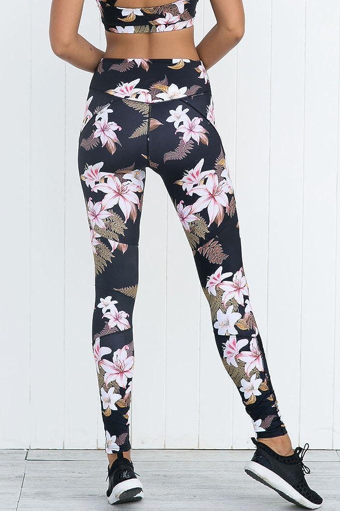Laufen und andere Aktivit/äten Juleya Frauen Sportanzug Yoga Legt Hemd BH Leggings Elastizit/ät Fitness Anz/üge Mode Drucken Trainingsanzug f/ür Yoga