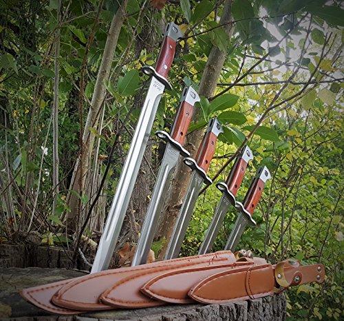 *5er Set* russisches AK-47 (AK47) CCCP Bajonett - klassisches Militär Bajonett - Seitengewehr - Kampfmesser - Jagdmesser -