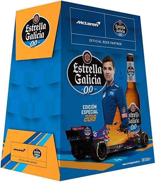Estrella Galicia Cerveza 00 - Pack de 6 botellas x 25 cl: Amazon.es: Alimentación y bebidas