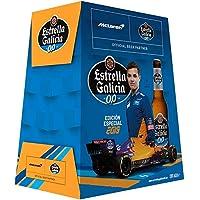 Estrella Galicia Cerveza 00 - Pack de 6 botellas x 25 cl