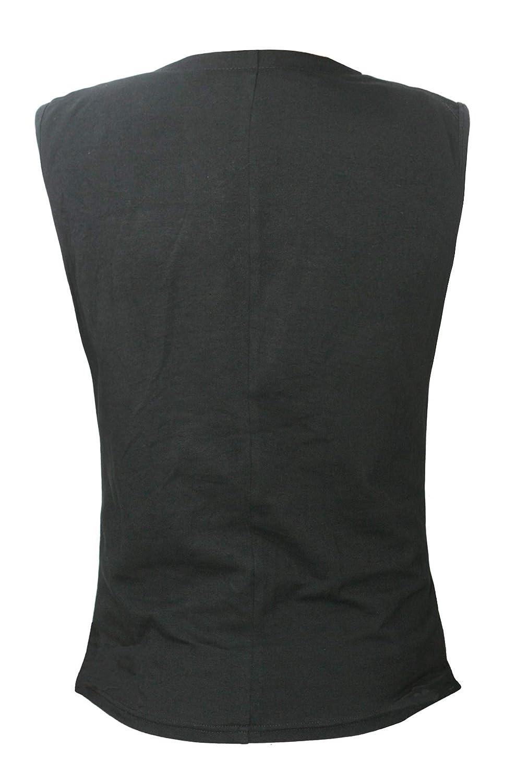Bslingerie/® Gilet da Uomo in Stile Steampunk Gotico Slim Fit