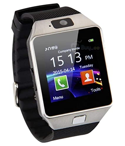 1a65a834c2ce72 Piqancy Dz09 Camera,Touch Screen, Bluetooth, Support SIM Card, SD Card  Smartwatch, (Black): Amazon.in: Computers & Accessories