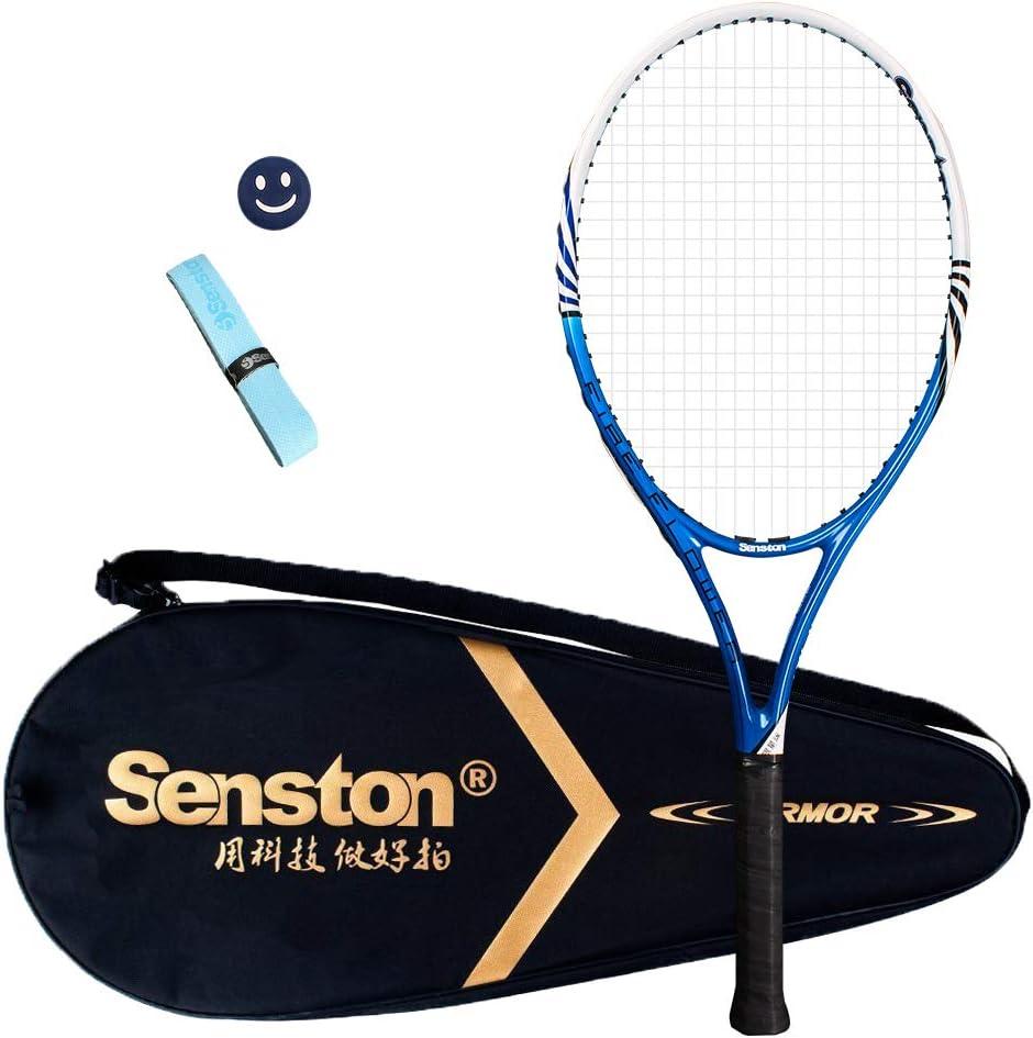 senston Raqueta de Tenis Unisex,Incluido Bolsa de Tenis / 1 Grip ...