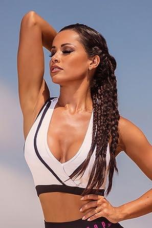 d00446fb071d1 Hipkini desert vallejo white workout sports bra at amazon womens jpg  297x445 Gym hipkini