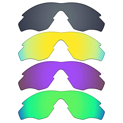 bb4db7d097a Image Unavailable. Image not available for. Color  Mryok 4 Pair Polarized  Replacement Lenses for Oakley M2 Frame Sunglass ...