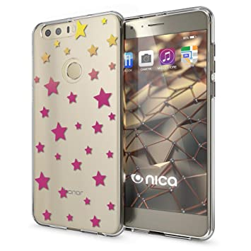 NALIA Funda Carcasa para Huawei Honor 8, Protectora Movil TPU Silicona Ultra-Fina Gel Transparente/Cubierta Goma Bumper Cover Case Cristal Clear para ...