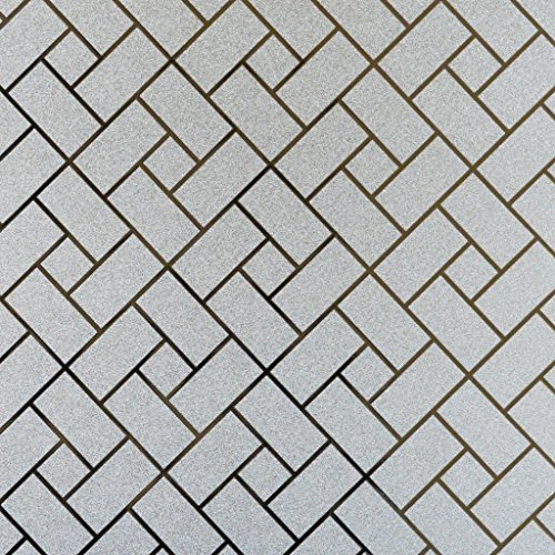 Delicate Decorative Window (Bloss 3D Window Films No Glue Self-Adhesive Decorative Home/Office Privacy Glass Stickers (17.7-by-78.7 Inches))