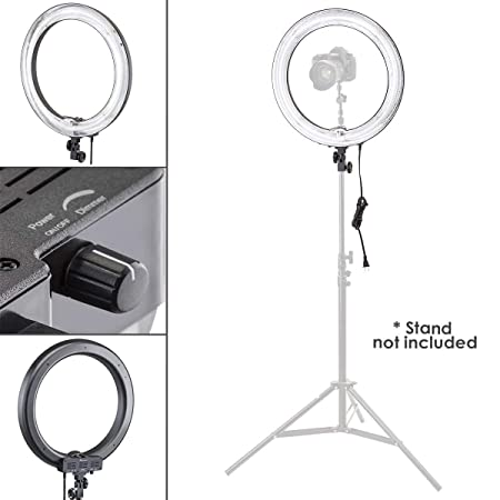 Flashpoint 80W Fluorescent Ring Light (14 Inch) Photo Studio & Lighting at amazon