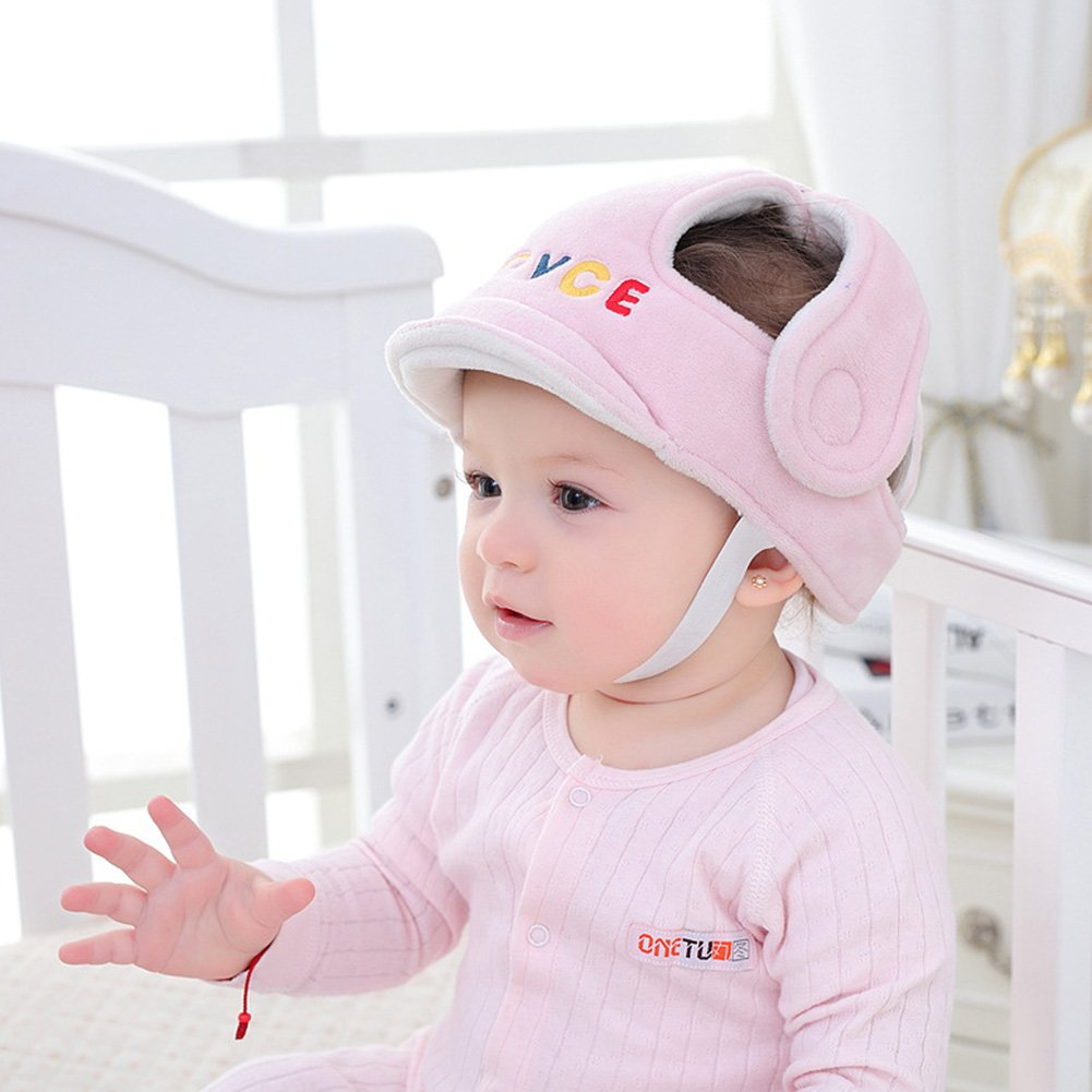 Children Shatterproof Cap, Baby Children Infant Adjustable Safety Helmet, Baby Safety Headgear Impact Resistant, PROKTH