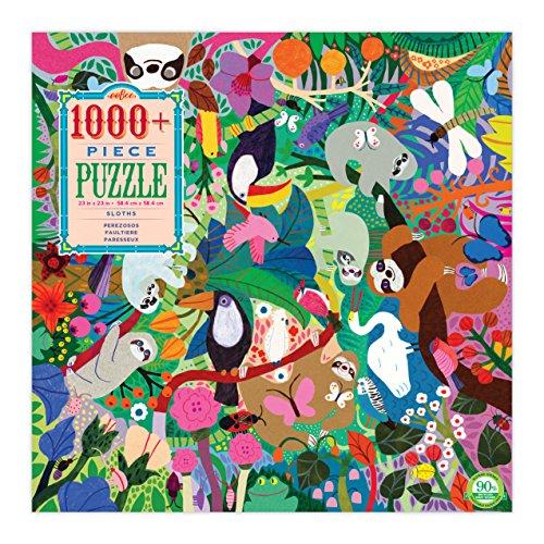 eeBoo Sloth Puzzle 1008 PC, 1 EA