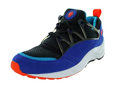 8d40cca681116 NIKE Air Huarache Light Men s Running Shoes 306127-480 Concord Team Orange- Black 9.5